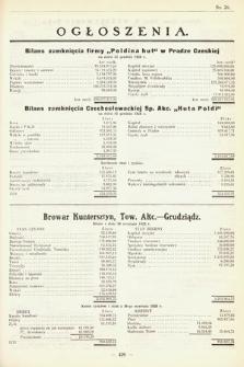 Ogłoszenia [dodatek do Dziennika Urzędowego Ministerstwa Skarbu]. 1929, nr26