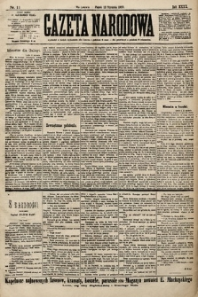 Gazeta Narodowa. 1900, nr11