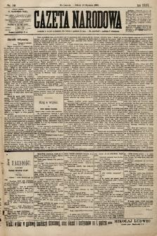 Gazeta Narodowa. 1900, nr12