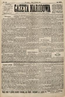 Gazeta Narodowa. 1900, nr16