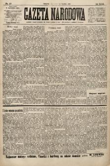 Gazeta Narodowa. 1900, nr17