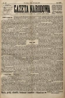Gazeta Narodowa. 1900, nr19