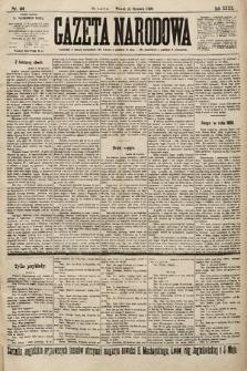 Gazeta Narodowa. 1900, nr22