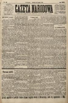 Gazeta Narodowa. 1900, nr27