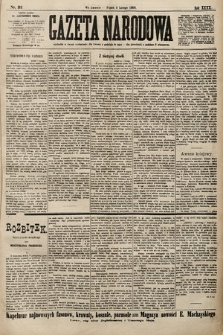 Gazeta Narodowa. 1900, nr32