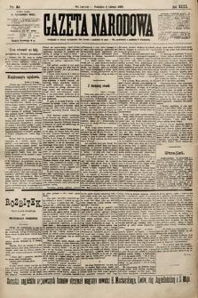 Gazeta Narodowa. 1900, nr34