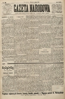 Gazeta Narodowa. 1900, nr36