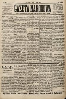 Gazeta Narodowa. 1900, nr37