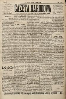 Gazeta Narodowa. 1900, nr43