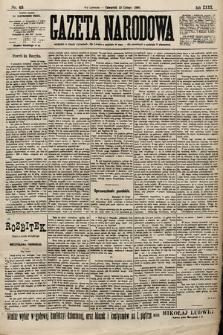 Gazeta Narodowa. 1900, nr45