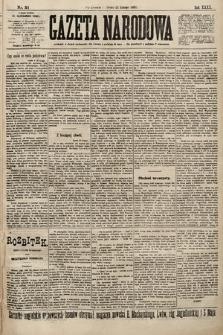 Gazeta Narodowa. 1900, nr51