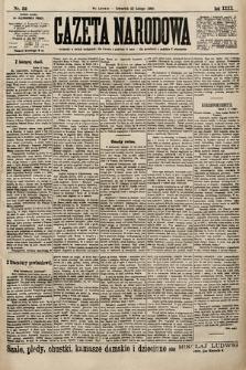 Gazeta Narodowa. 1900, nr52