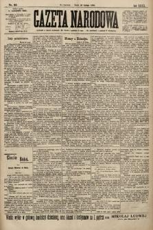 Gazeta Narodowa. 1900, nr58