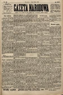 Gazeta Narodowa. 1900, nr65