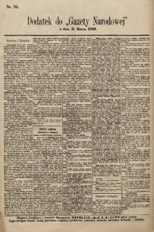Gazeta Narodowa. 1900, nr70