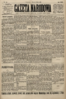 Gazeta Narodowa. 1900, nr71