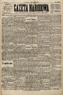 Gazeta Narodowa. 1900, nr74