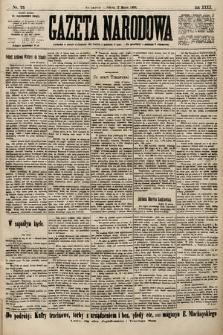 Gazeta Narodowa. 1900, nr75