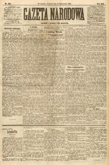 Gazeta Narodowa. 1904, nr234