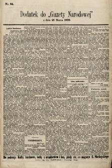 Gazeta Narodowa. 1900, nr84