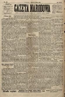 Gazeta Narodowa. 1900, nr87