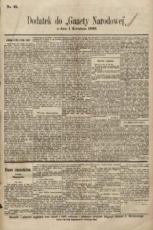 Gazeta Narodowa. 1900, nr91