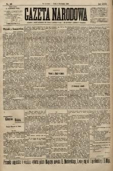 Gazeta Narodowa. 1900, nr93