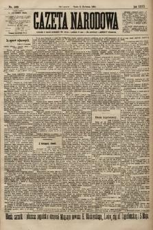 Gazeta Narodowa. 1900, nr100