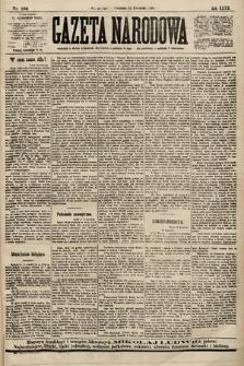 Gazeta Narodowa. 1900, nr104