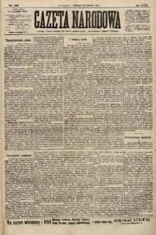 Gazeta Narodowa. 1900, nr107