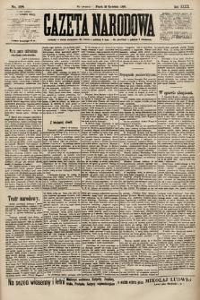 Gazeta Narodowa. 1900, nr108