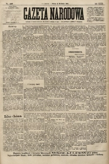 Gazeta Narodowa. 1900, nr109