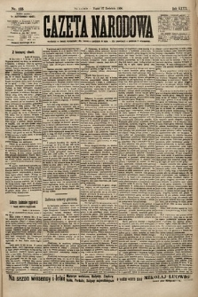 Gazeta Narodowa. 1900, nr115