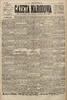 Gazeta Narodowa. 1900, nr117