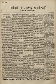 Gazeta Narodowa. 1900, nr118