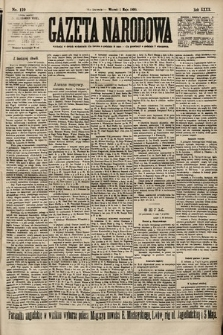 Gazeta Narodowa. 1900, nr119