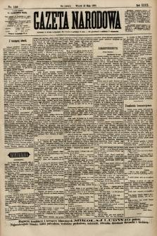 Gazeta Narodowa. 1900, nr140