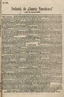 Gazeta Narodowa. 1900, nr163