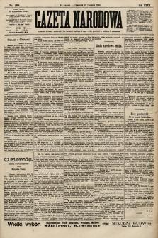 Gazeta Narodowa. 1900, nr169