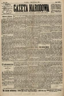Gazeta Narodowa. 1900, nr170
