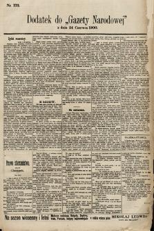 Gazeta Narodowa. 1900, nr173