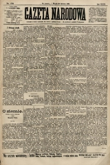 Gazeta Narodowa. 1900, nr174