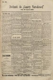 Gazeta Narodowa. 1900, nr178