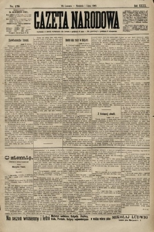 Gazeta Narodowa. 1900, nr179