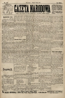 Gazeta Narodowa. 1900, nr181