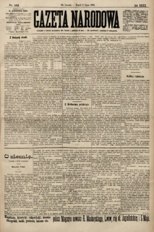 Gazeta Narodowa. 1900, nr184