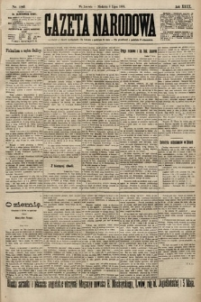 Gazeta Narodowa. 1900, nr186
