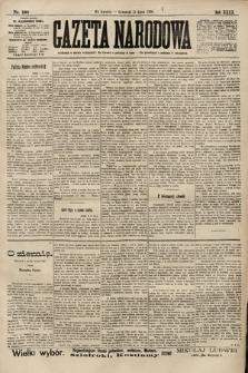Gazeta Narodowa. 1900, nr190