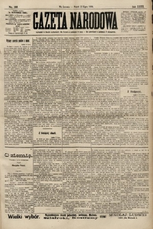 Gazeta Narodowa. 1900, nr191
