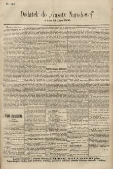 Gazeta Narodowa. 1900, nr194